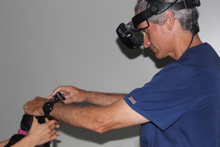 Revisión oftalmológica post operatorio Pepis