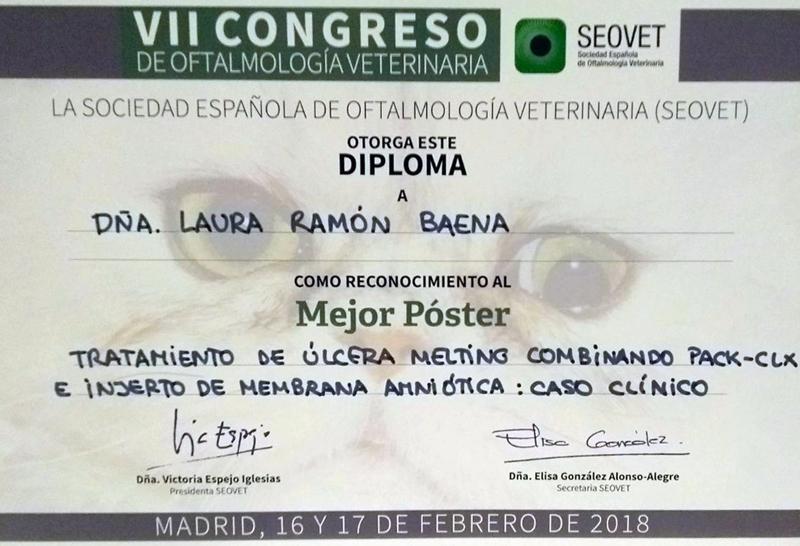 Premio poster SEOVET al IVO