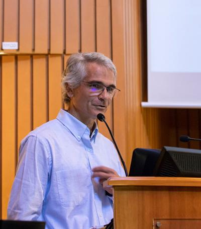 Paco Simó en la Jornada IVO sobre actualización en patologías de la córnea y superficie ocular